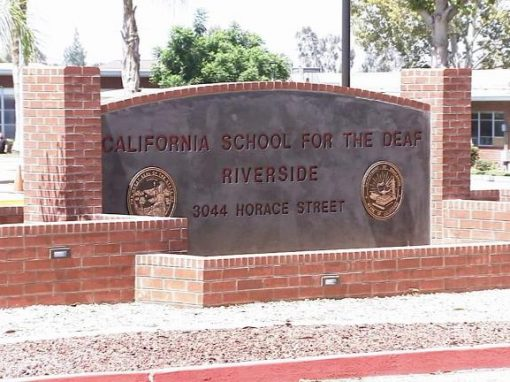 California School for the Deaf, Riverside, CA